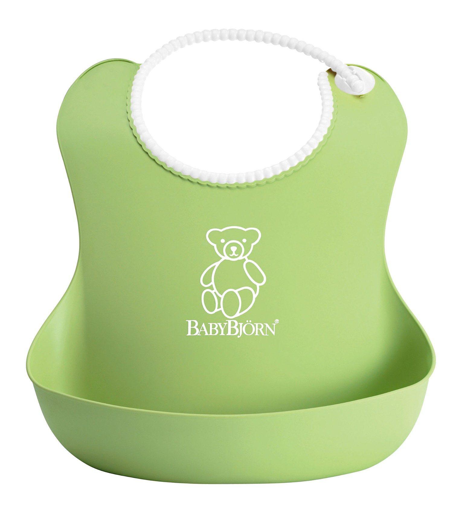 BabyBjörn Lätzchen mit Auffangschale, Grün