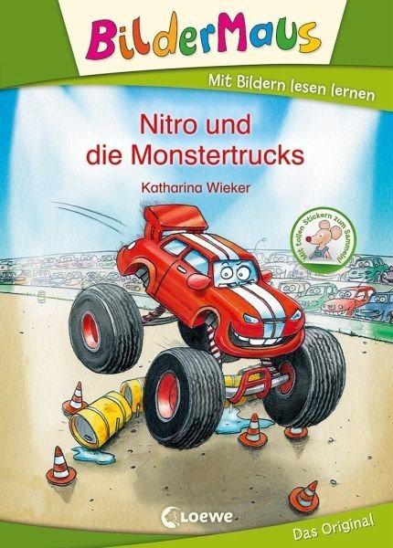 Gebundenes Buch »Bildermaus - Nitro und die Monstertrucks«