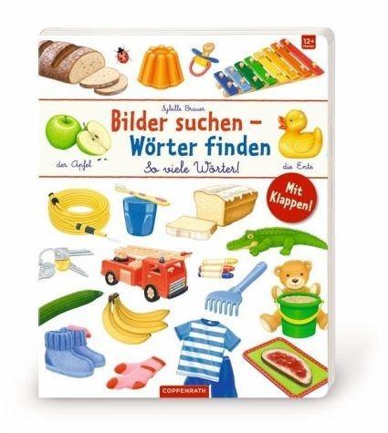 Buch mit Papp-Einband »So viele Wörter«