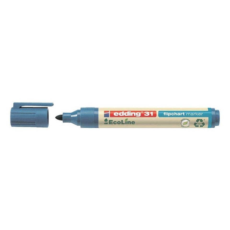 Edding Flipchart Marker »31 ecoline« in blau