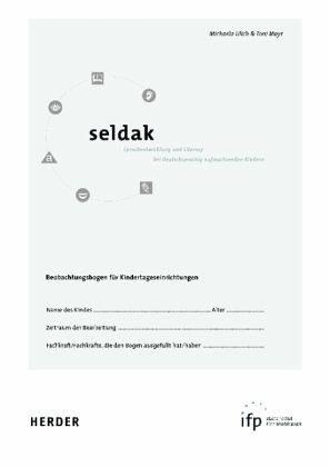 Broschiertes Buch »Seldak - Sprachentwicklung + Literacy bei...«