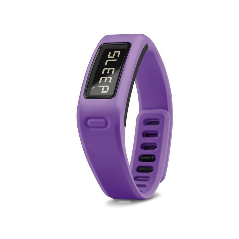 Garmin Activity Tracker »vívofit inkl. Herzfrequenzbrustgurt« in Lila