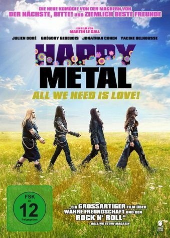 DVD »Happy Metal - All We Need Is Love!«