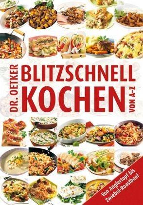 Broschiertes Buch »Blitzschnell kochen von A-Z«