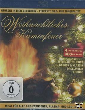 Blu-ray »Weihnachtliches Kaminfeuer«