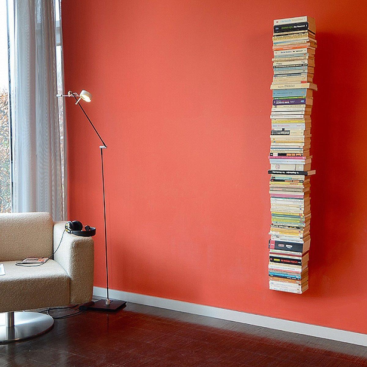 Radius Radius Booksbaum 2 Wand gross, Bücherregal, schwarz