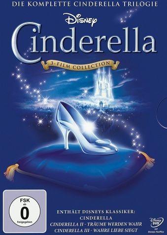 DVD »Cinderella - Die komplette Cinderella Trilogie«