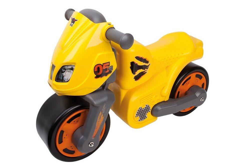 Laufrad, »BIG-Speed-Bike«, BIG in gelb