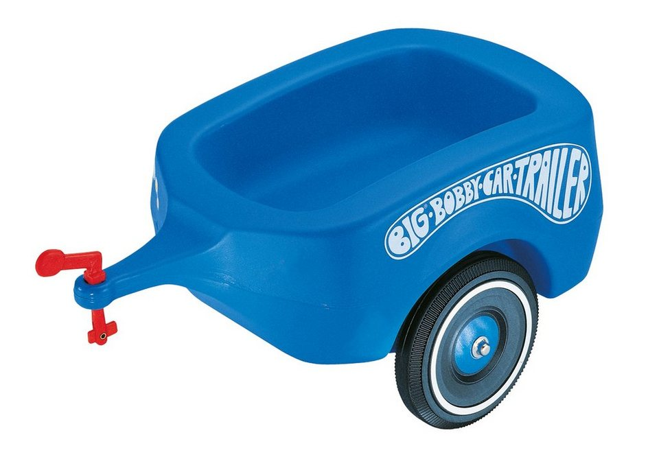 BIG Anhänger, »BIG-Bobby-Car-Trailer« in blau