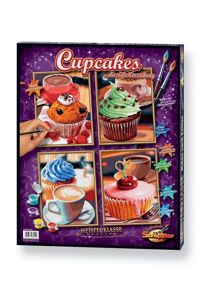 Malen nach Zahlen, »Quattro - Cupcakes«, Schipper