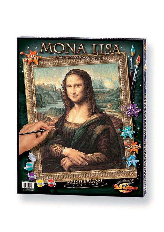 Malen nach Zahlen, »Mona Lisa«, Schipper