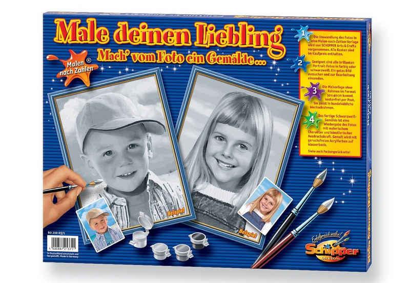 Schipper Malen nach Zahlen »Male deinen Liebling«, Made in Germany