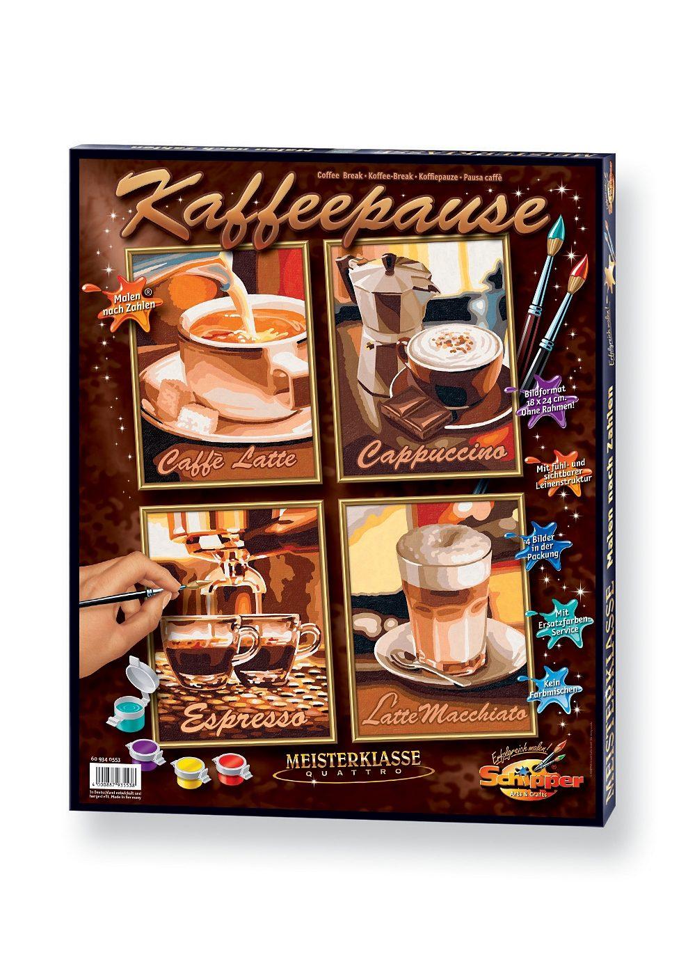 Schipper, Malen nach Zahlen, »Quattro - Kaffeepause«