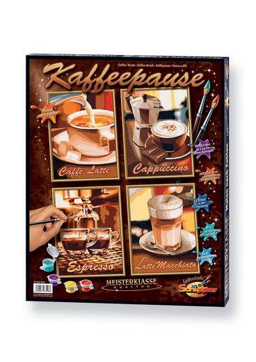Schipper Malen nach Zahlen »Quattro - Kaffeepause«