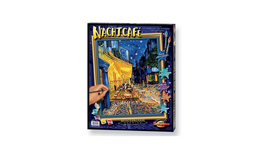 Malen nach Zahlen, »Das Nachtcafé nach Vincent van Gogh (1853 - 1890)«, Schipper