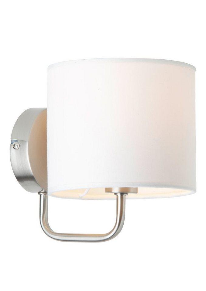 Wandlampe, Brilliant Leuchten in weiß