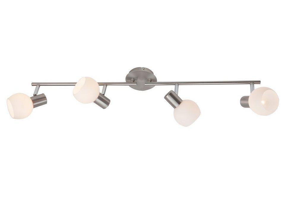LED-Deckenlampe, Brilliant Leuchten in silberfarben