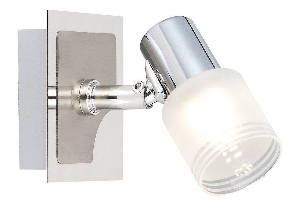 brilliant leuchten led wandleuchte lea 1 flammig online kaufen otto. Black Bedroom Furniture Sets. Home Design Ideas