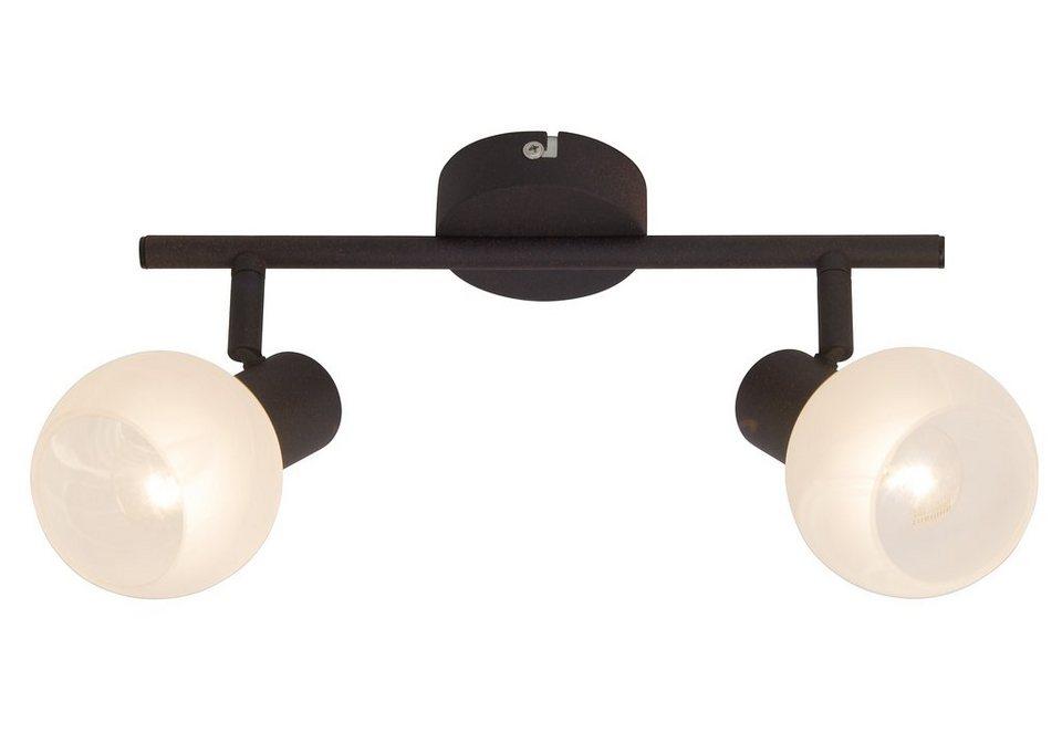Deckenlampe, Brilliant Leuchten in braun