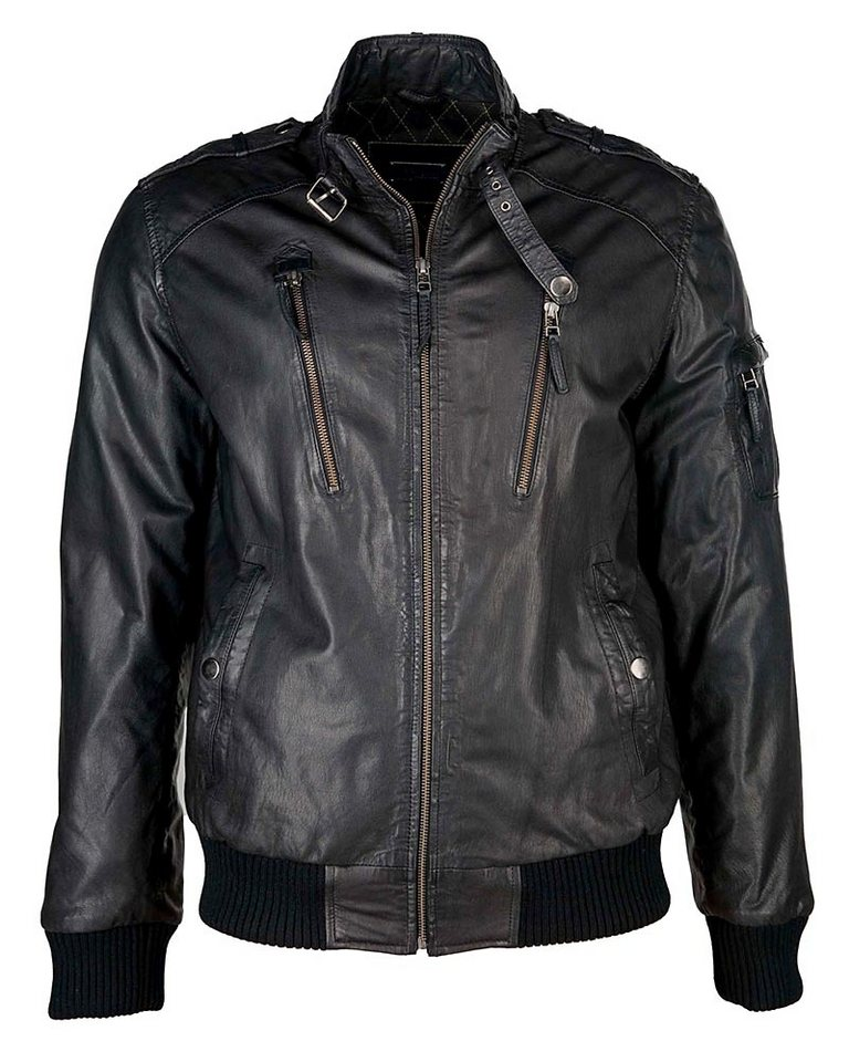 JCC Lederblouson, Herren »No.2« in black