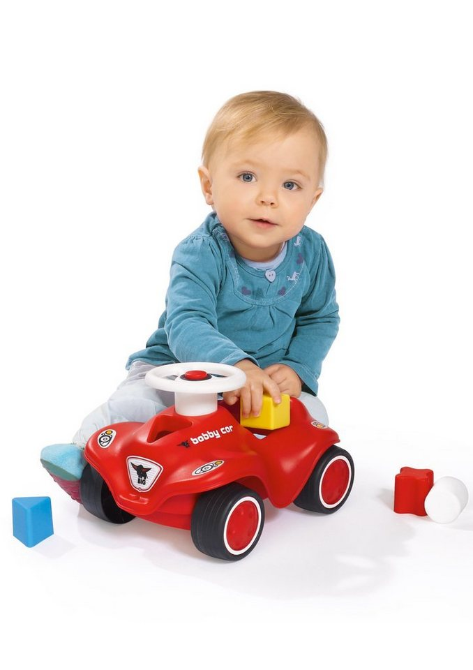 Auto, »Steckspielauto - Bobby-Car Baby«, BIG in rot