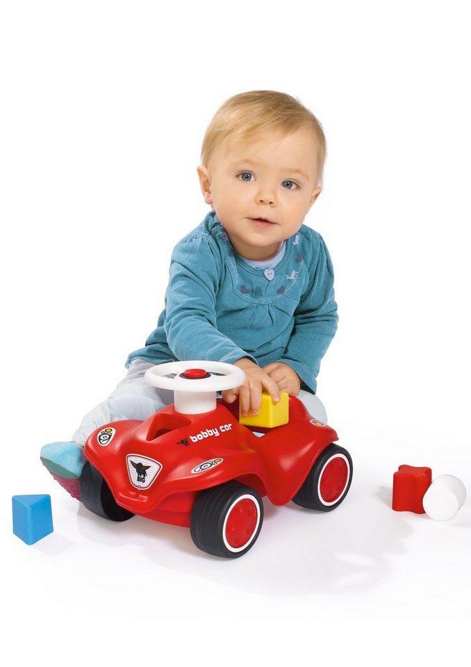 BIG Auto, »Steckspielauto - Bobby-Car Baby« in rot