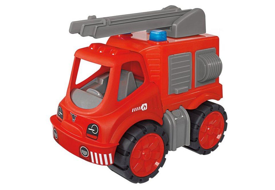 BIG Spielfahrzeug Feuerwehrauto »BIG Power Worker Feuerwehr« in rot