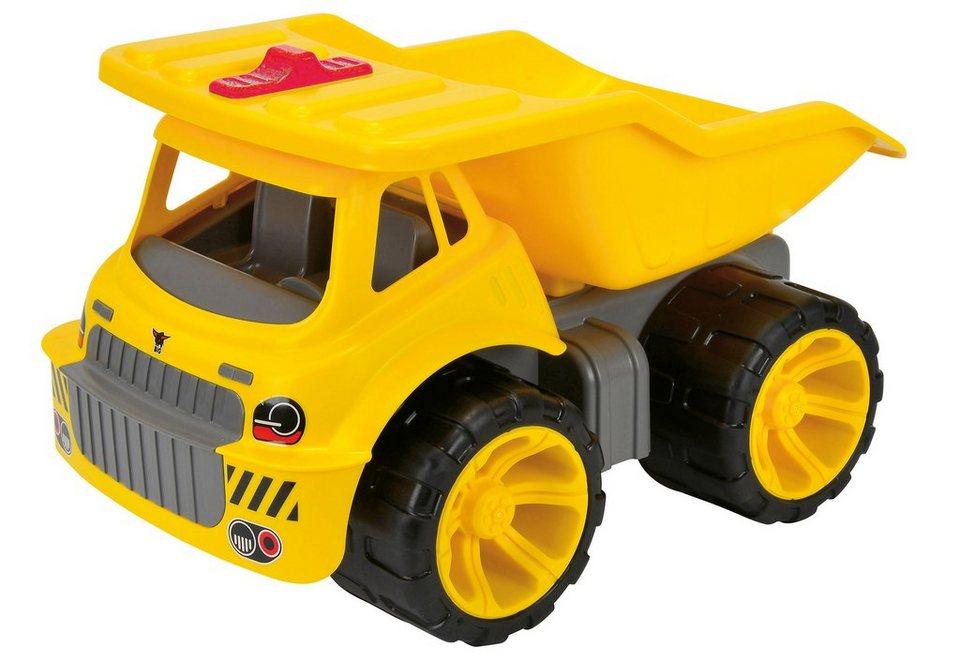 BIG Spielfahrzeug LKW »BIG Power Worker Maxi Truck« in gelb