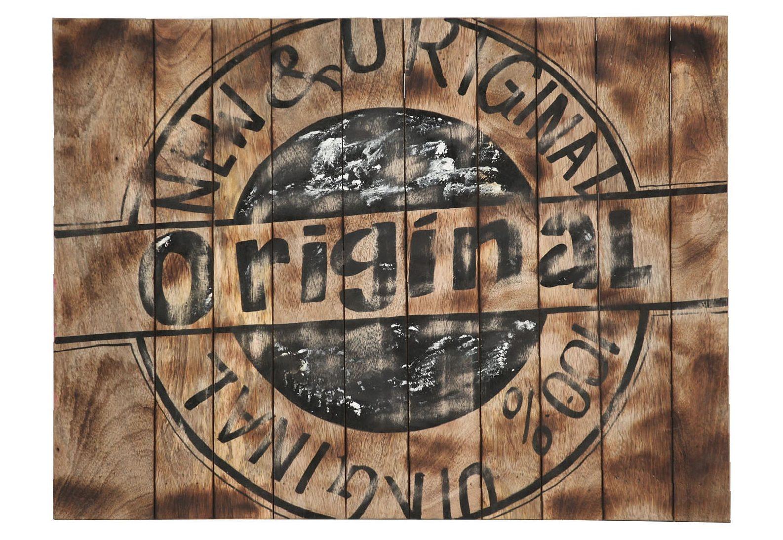 GUTMANN FACTORY Wandschild 80/60 cm