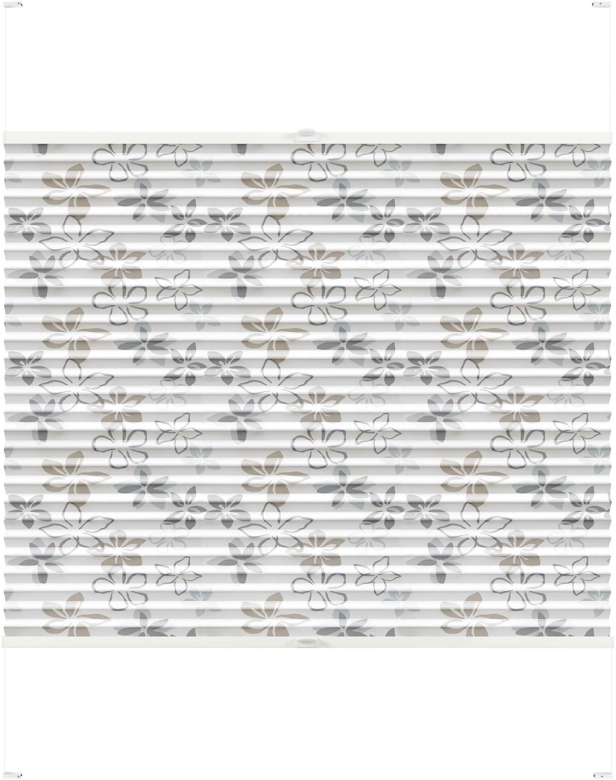 Plissee-Faltstore, Good Life, »Anna«, im Wunschmaß, mit weißen Profilen, Lichtschutz (1 Stck.)