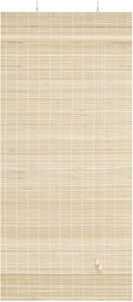Bambus-Raffrollo, Good Life, »Alida«, im Festmaß (1 Stück) in natur