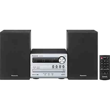 Panasonic SC-PM250EG-S Microanlage, Bluetooth, RDS, 1x USB