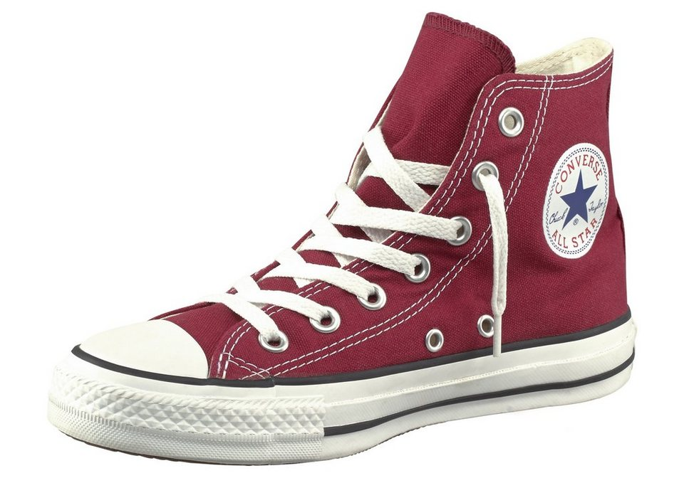 Converse Chuck Taylor All Star Core Hi Sneaker in Bordeaux-rot