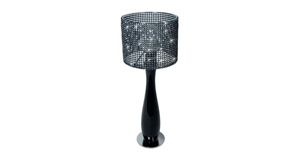 s`luce Tischleuchte Nachttischlampe »BLING Ø15, schwarz«