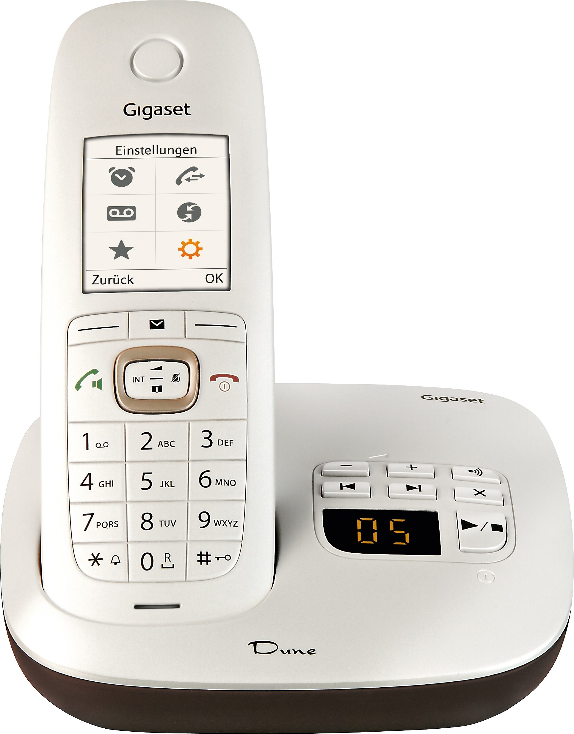 Gigaset CL540A Schnurloses DECT Telefon mit AB