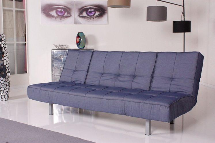 Kasper wohndesign relax schlafsofa selina bettsofa denim for Wohndesign versand