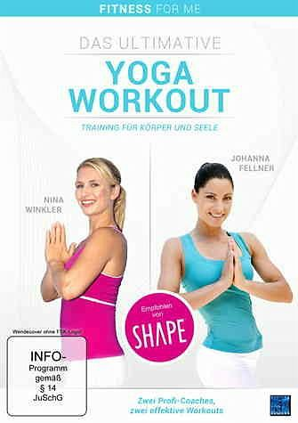 DVD »Yoga-Fusion, Das ultimative Yoga-Workout«