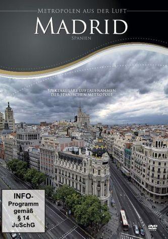 DVD »Metropolen aus der Luft - Madrid«