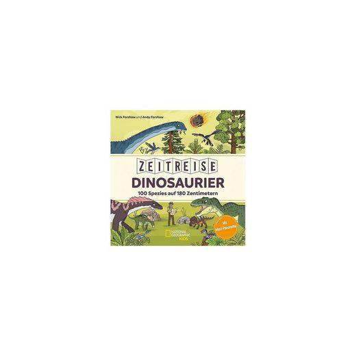Friendz Verlag Zeitreise Dinosaurier. 100 Spezies auf 180 Zentimetern