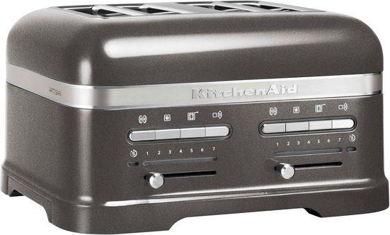 KitchenAid Toaster Artisan 5KMT4205EMS, für 4 Scheiben, 2500 W