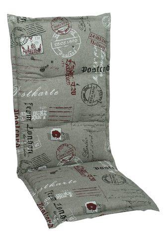 GO-DE Paaukštinta pagalvėlė gultui »Postcard...