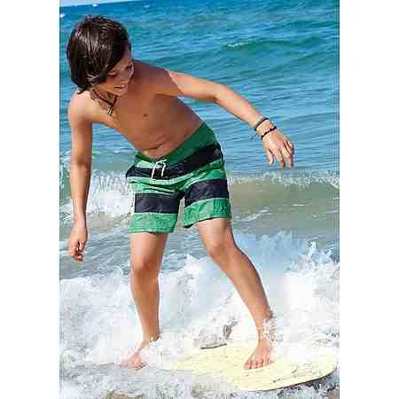 s.Oliver RED LABEL Beachwear Badeshorts mit Blockstreifen