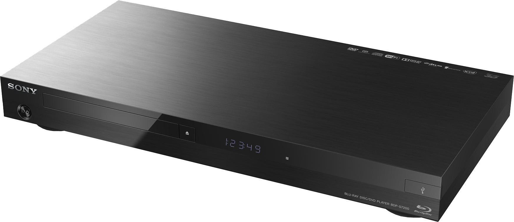 Sony BDP-S7200 Blu-ray-Player, 3D-fähig, 4K UHD-Upscaling (60p), WLAN