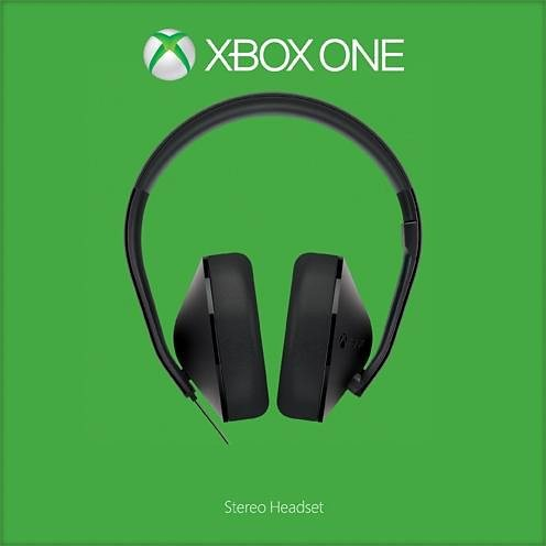 Xbox One Stereo Headset in schwarz