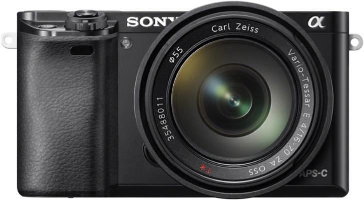 Systemkameras - Sony »Alpha ILCE 6000Z« Systemkamera (Carl Zeiss 16 70, 24,3 MP, WLAN (Wi Fi), Gesichtserkennung, HDR Aufnahme)  - Onlineshop OTTO