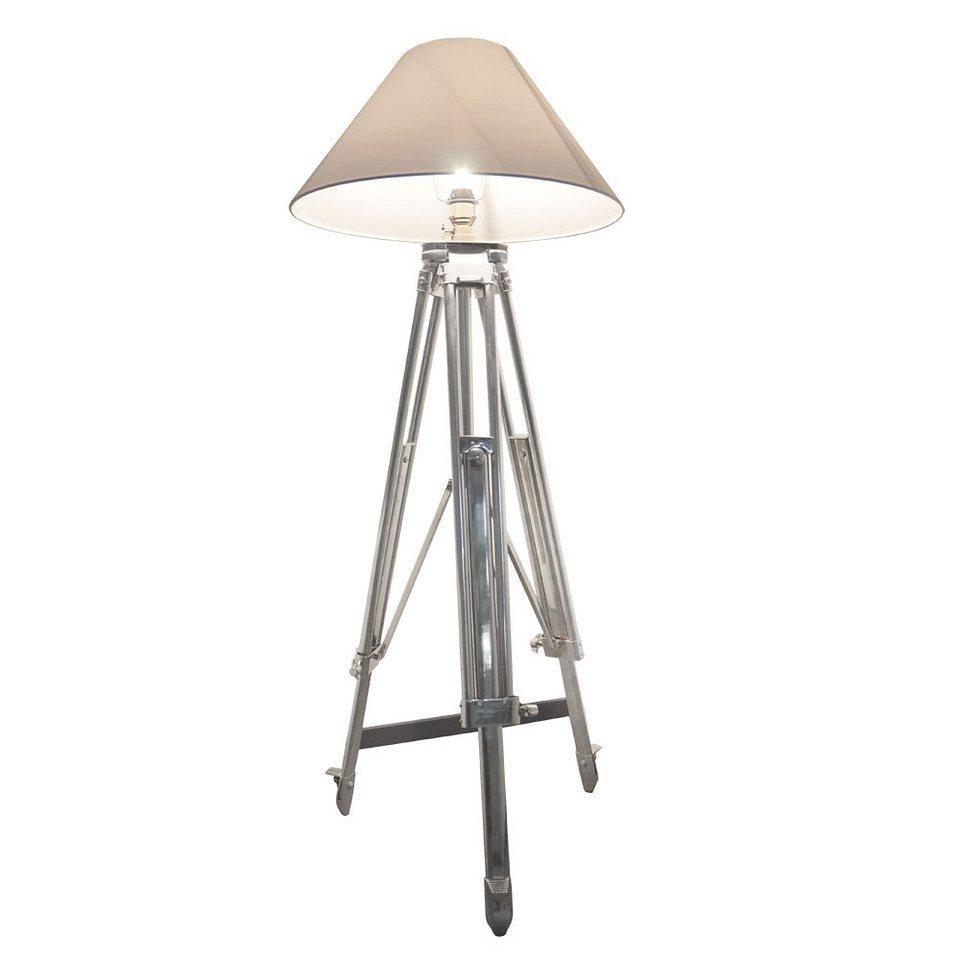 s luce stehleuchte dreibeinlampe tripod xxl h 130 225cm 60cm chrom online kaufen otto. Black Bedroom Furniture Sets. Home Design Ideas