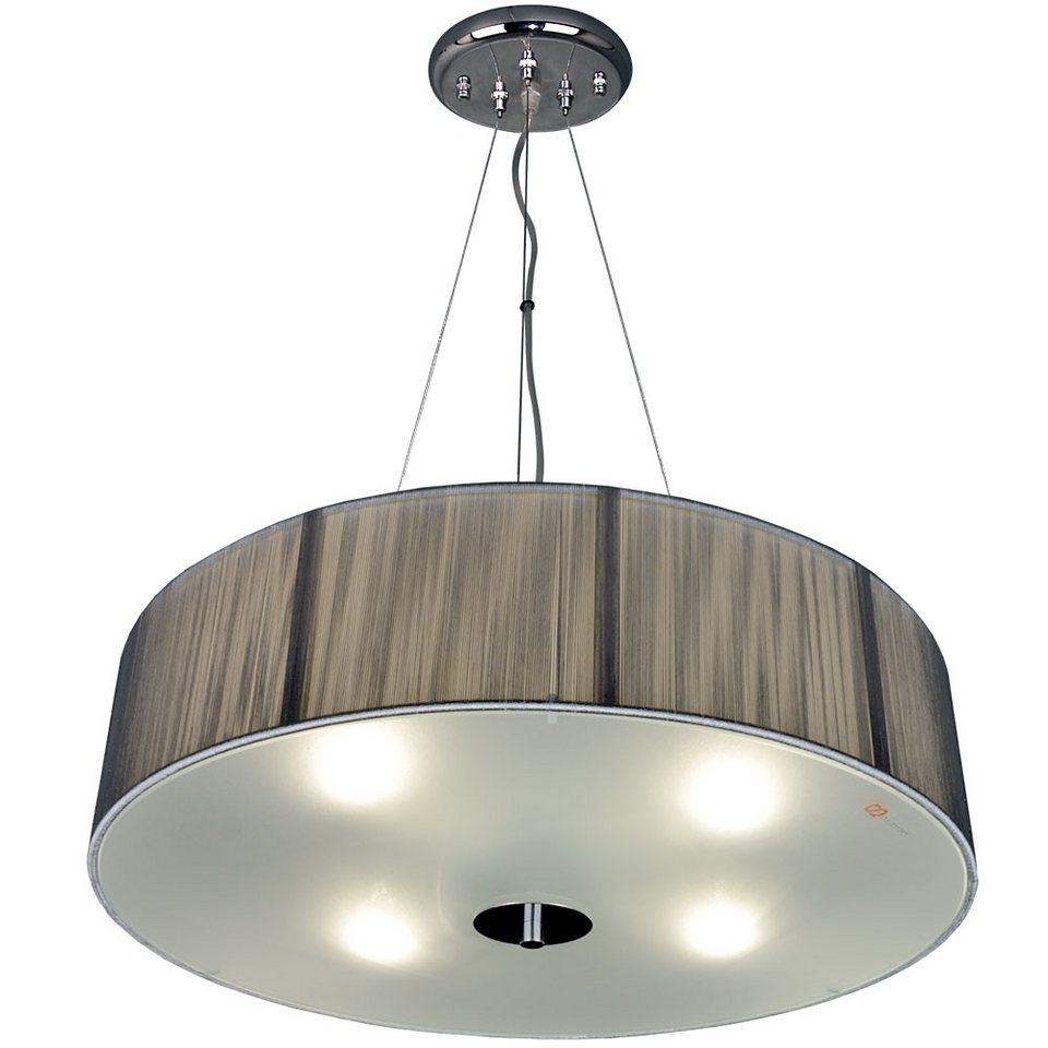 s luce h ngeleuchte wohnzimmerlampe twine 4 flammig 50 silberfarben online kaufen otto. Black Bedroom Furniture Sets. Home Design Ideas