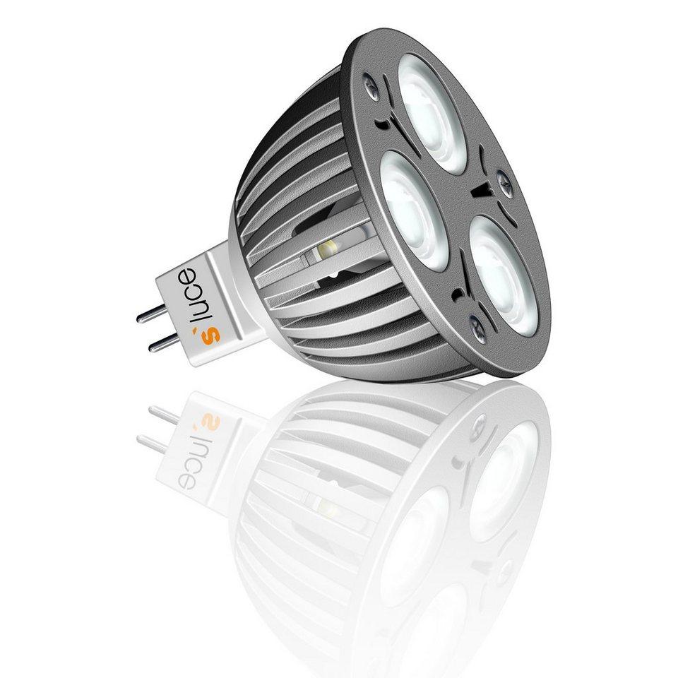 s luce led leuchtmittel gx5 3 mr16 highpower 3x1w warmwei online kaufen otto. Black Bedroom Furniture Sets. Home Design Ideas