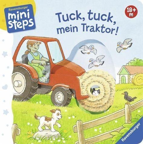 Buch mit Papp-Einband »Tuck, tuck, mein Traktor!«