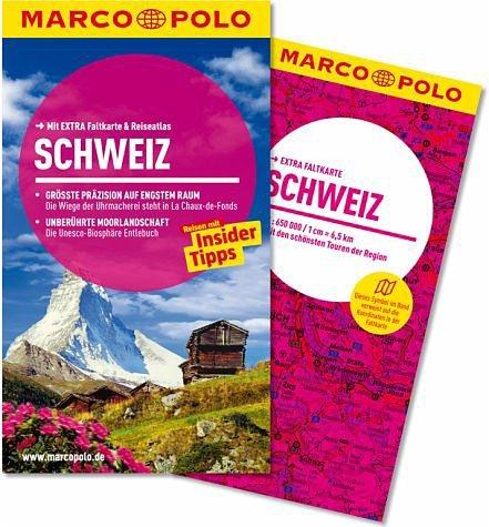 Broschiertes Buch »MARCO POLO Reiseführer Schweiz«